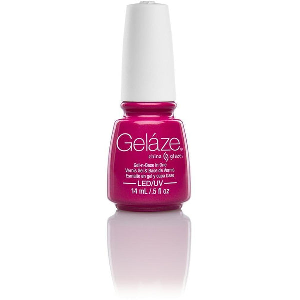 China Glaze Gelaze - Caribbean Temptation 0.5 oz - #81639