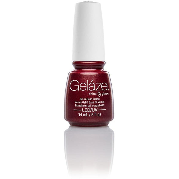 China Glaze Gelaze - Long Kiss 0.5 oz - #81634