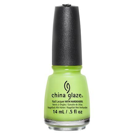 China Glaze - Grass Is Lime Greener 0.5 oz - #81766