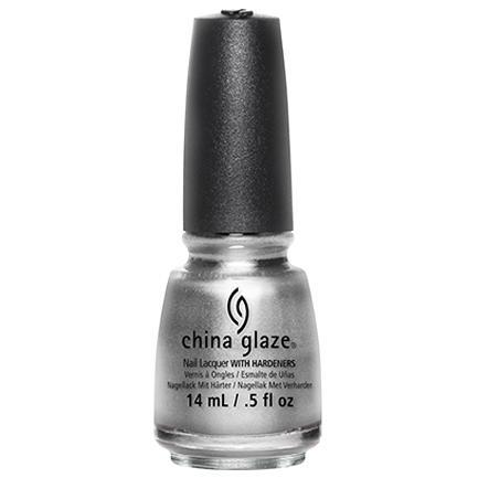 China Glaze - Platinum Silver 0.5 oz - #77051