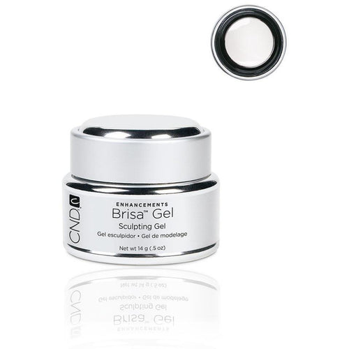 CND - Brisa Sculpting Gel - Pure White - Opaque 0.5 oz