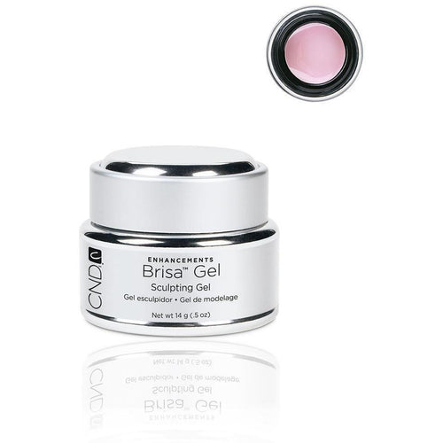 CND - Brisa Sculpting Gel - Warm Pink - Semi Sheer 0.5 oz