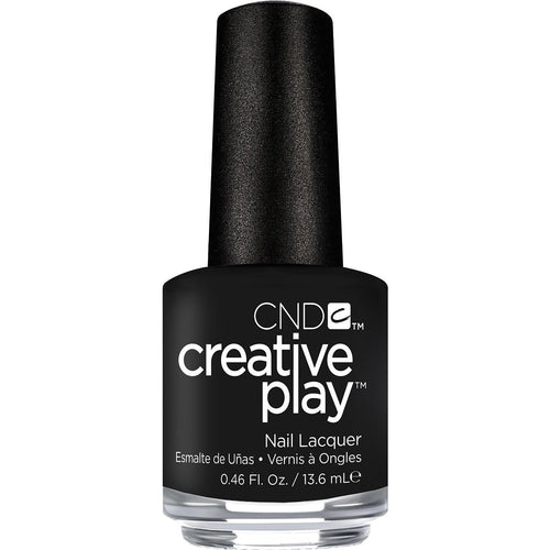 CND Creative Play -  Black Forth 0.5 oz - #451