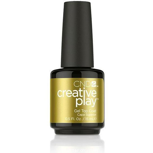CND Creative Play Gel - Top Coat 0.5 oz