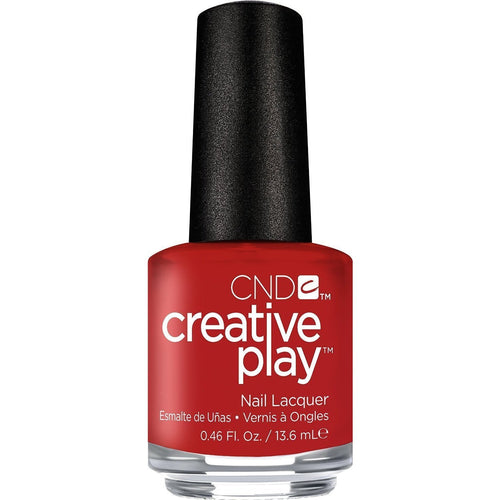 CND Creative Play -  Red-Y To Roll 0.5 oz - #412