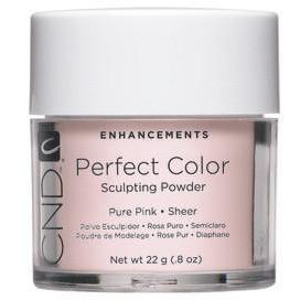 CND - Perfect Color Powder - Pure Pink - Sheer 0.8 oz