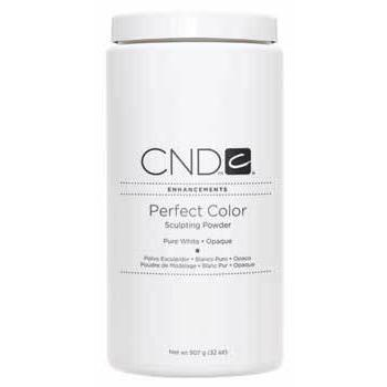 CND - Perfect Color Powder - Pure White - Opaque 32 oz