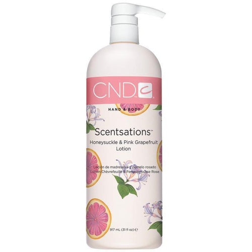 CND - Scentsation Honeysuckle & Pink Grapefruit Lotion 31 fl oz