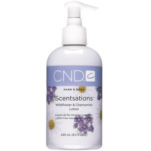CND - Scentsation Wildflower & Chamomile Lotion 8.3 fl oz
