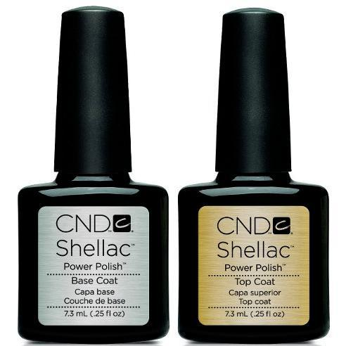 CND Shellac - Base & Top Coat (0.25 oz)