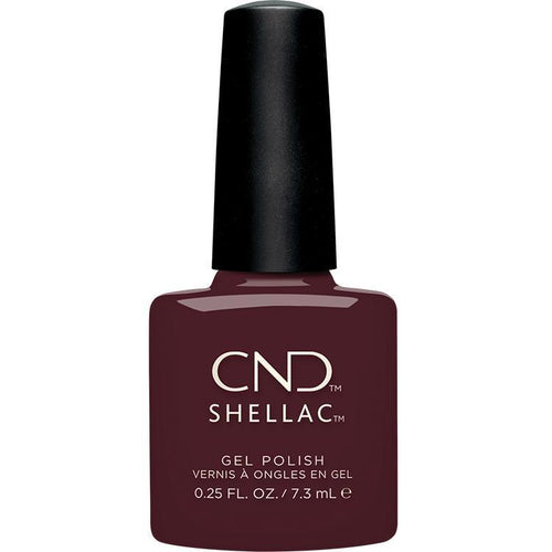 CND - Shellac Black Cherry (0.25 oz)