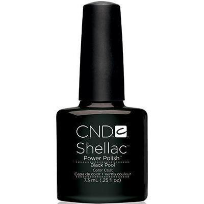 CND - Shellac Black Pool (0.25 oz)