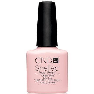 CND - Shellac Clearly Pink (0.25 oz)
