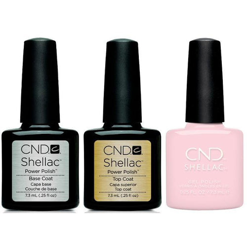 CND - Shellac Combo - Base, Top & Aurora