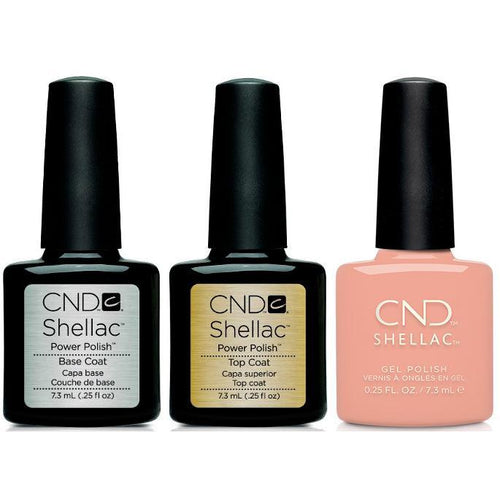 CND - Shellac Combo - Base, Top & Baby Smile
