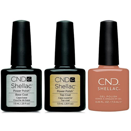 CND - Shellac Combo - Base, Top & Boheme