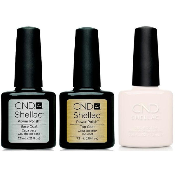 CND - Shellac Combo - Base, Top & Bouquet