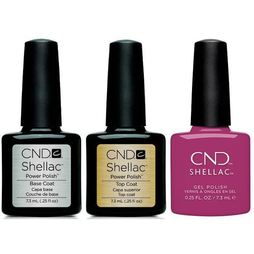 CND - Shellac Combo - Base, Top & Brazen