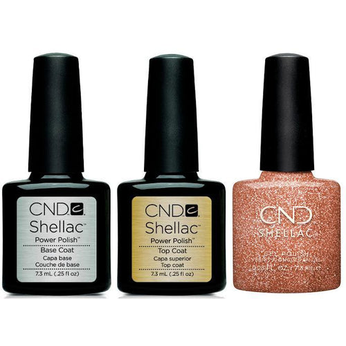 CND - Shellac Combo - Base, Top & Chandelier