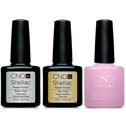 CND - Shellac Combo - Base, Top & Coquette
