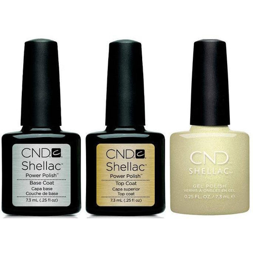 CND - Shellac Combo - Base, Top & Divine Diamond