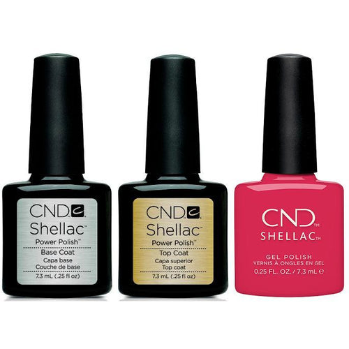 CND - Shellac Combo - Base, Top & Femme Fatale