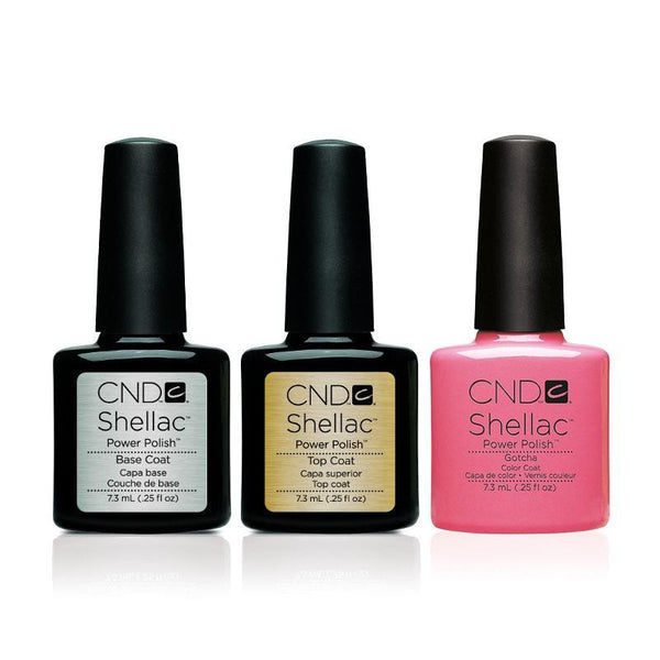 CND - Shellac Combo - Base, Top & Gotcha