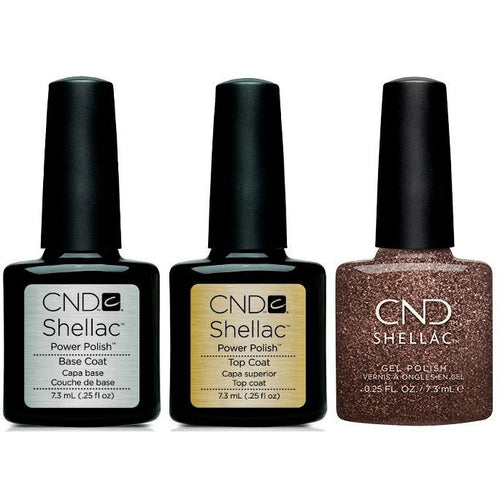 CND - Shellac Combo - Base, Top & Grace