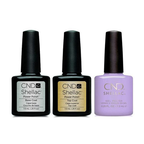 CND - Shellac Combo - Base, Top & Gummi