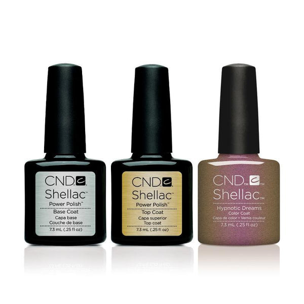 CND - Shellac Combo - Base, Top & Hypnotic Dreams