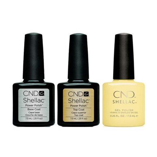 CND - Shellac Combo - Base, Top & Jellied