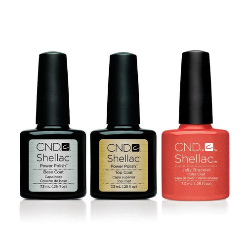 CND - Shellac Combo - Base, Top & Jelly Bracelet