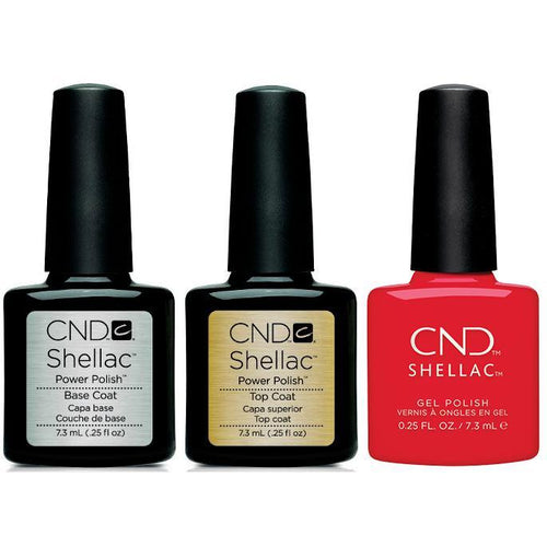 CND - Shellac Combo - Base, Top & Liberte
