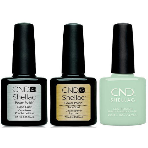 CND - Shellac Combo - Base, Top & Magical Topiary