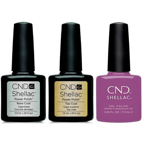 CND - Shellac Combo - Base, Top & Psychedelic