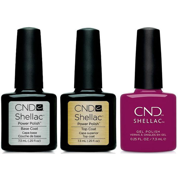 CND - Shellac Combo - Base, Top & Secret Diary