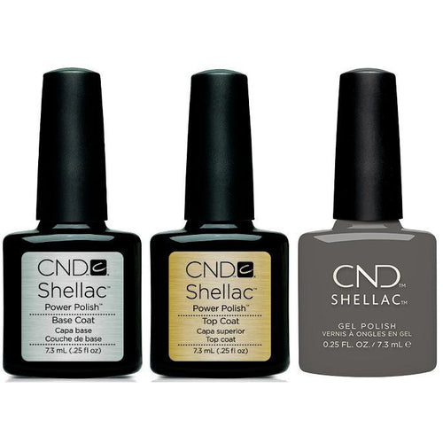 CND - Shellac Combo - Base, Top & Silhouette