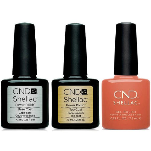 CND - Shellac Combo - Base, Top & Soulmate