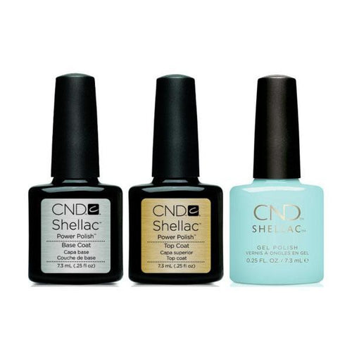 CND - Shellac Combo - Base, Top & Taffy
