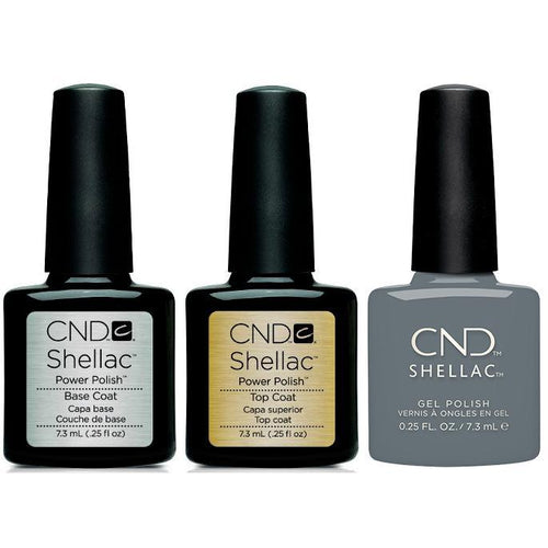 CND - Shellac Combo - Base, Top & Whisper