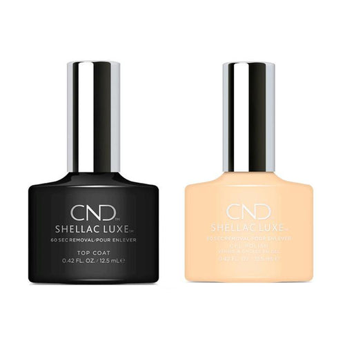 CND - Shellac Luxe - Top Coat & Exquisite 0.42 oz - #308