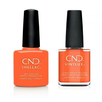 CND - Shellac & Vinylux Combo - B-Day Candle