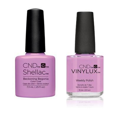 CND - Shellac & Vinylux Combo - Beckoning Begonia