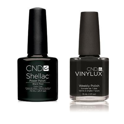CND - Shellac & Vinylux Combo - Black Pool