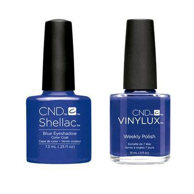 CND - Shellac & Vinylux Combo - Blue Eyeshadow