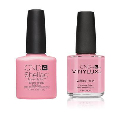 CND - Shellac & Vinylux Combo - Blush Teddy