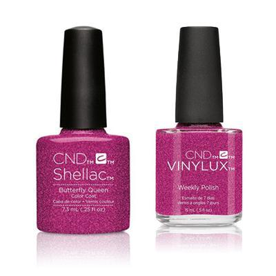 CND - Shellac & Vinylux Combo - Butterfly Queen