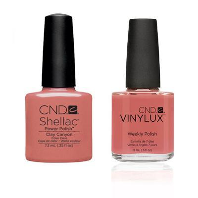 CND - Shellac & Vinylux Combo - Clay Canyon