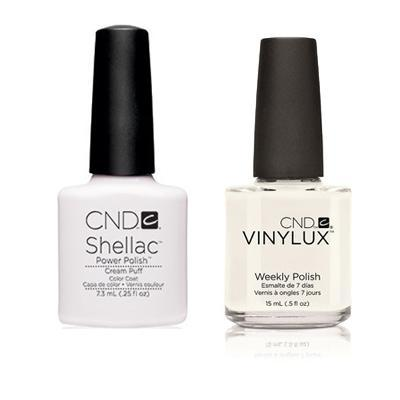 CND - Shellac & Vinylux Combo - Cream Puff