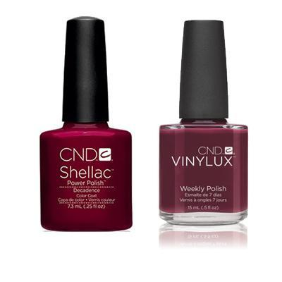 CND - Shellac & Vinylux Combo - Decadence